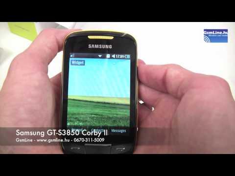 Samsung GT-S3850 Corby II | GsmLine.hu