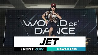 Jet | FRONTROW | World of Dance Hawaii 2019 |#WODHI19