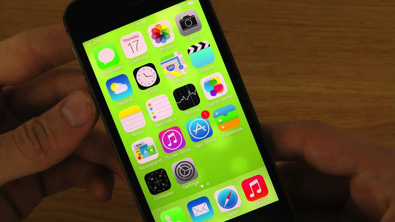 iPhone 5S iOS 7 0 2 - NEW YouTube App 2 2 Update Change Video Quality Review