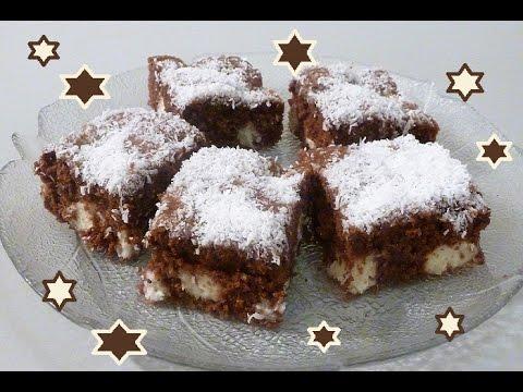 Schoko Kokos Kuchen Vom Blech Youtube