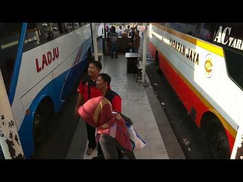 Cara naik bus dari bandara Juanda ke Terminal Bungurasih