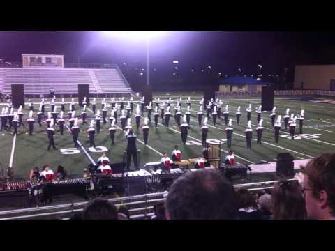 "Clinton High School Marching Band 10/8/11 ""enLIGHTen"""