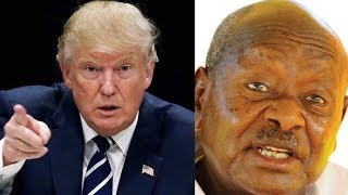 Trump Has Put a Travel Ban on Museveni Until Bobi Wine Becomes President