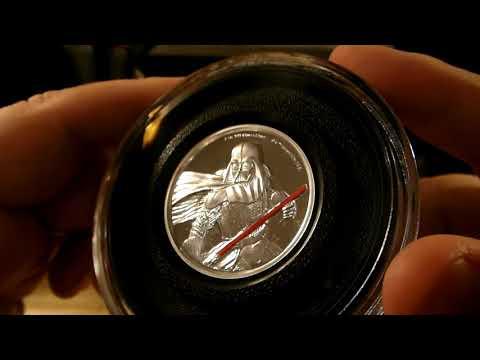 Star Wars Darth Vader 2oz New Zealand Mint silver coin