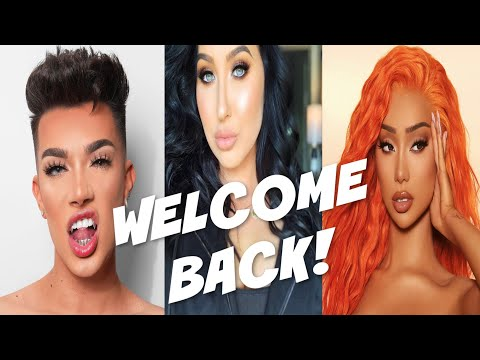 JAMES CHARLES & NIKITA DRAGUN SUPPORT JACLYN HILL AS SHE DELETES COMMENTS! thumbnail