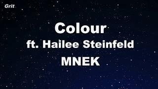 Colour ft. Hailee Steinfeld - MNEK Karaoke 【No Guide Melody】 Instrumental
