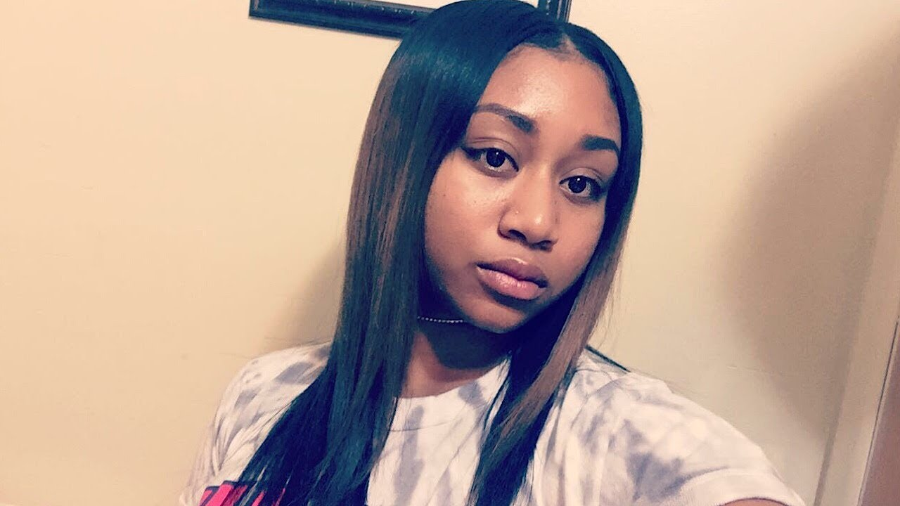 Natural Middle Part Quick Weave Tutorial With Minimum Leave Out