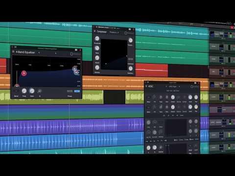Waveform Free Digital Audio Workstation Band Editing Software Tracktion