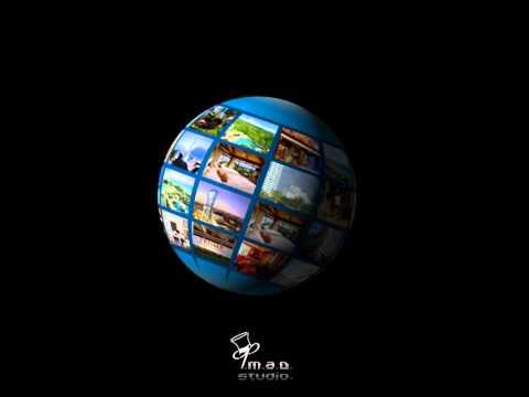 3D Globe animation