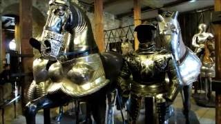 Awesome armor and weapons in the Tower of London