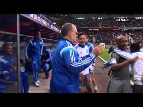 Caen - Olympique de Marseille 1-2 Gignac 93' (04/10/2014) commentaires canal+