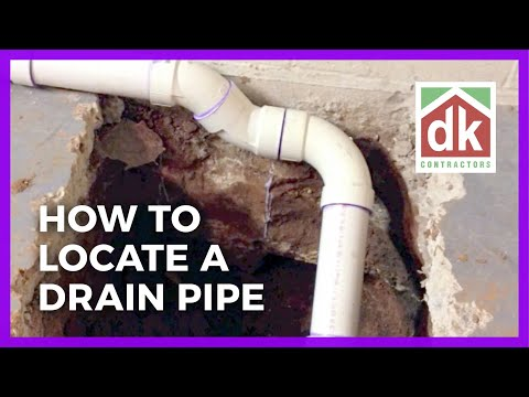 How To Locate A Drain Pipe
