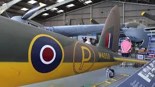 DH Mosquito Aircraft at de Havilland Aircraft Museum Salisbury Hall England - 2018