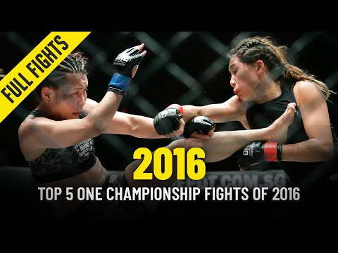 Top 5 ONE Championship Fights Of 2016