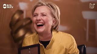 Eva Jinek interviewt Hillary Clinton