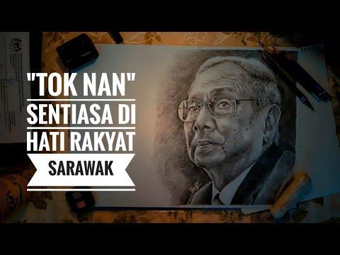 """time-lapse-drawing- -""""tok-nan""""- -sarawakian-artist"""