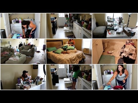 EXTREMELY DIRTY HOUSE   EXTREME CLEANING MOTIVATION   CLEAN WITH ME