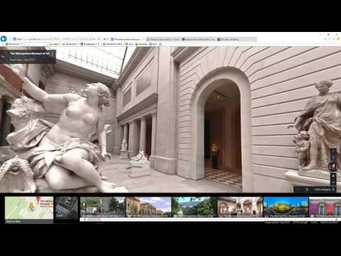 Video Dominion - The Metropolitan Museum of Art - the Met, New York City, near Central Park