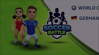 Soccer Battle World Cup Qualifying Matchday 1 Germany vs Poland