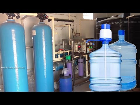 FULLY AUTOMATED MINERAL WATER PLANT R.O / Small Scale Business