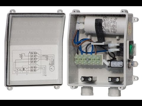 Motor Starter Wiring Diagram Junction Box Single Phase Submersible Explanation