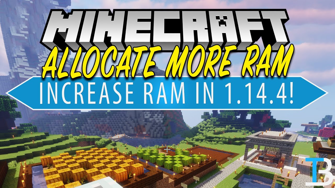 How To Allocate More RAM To Minecraft 100.100100.100 (Dedicate More RAM to  Minecraft 100.100100.100!)