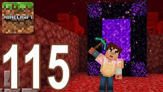 Minecraft: Pocket Edition - Gameplay Walkthrough Part 115 - Nether Update (iOS, Android)