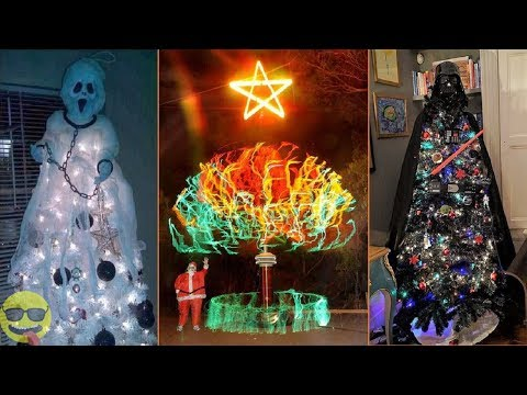 100 Most Creative and Cool Christmas Tree Ideas
