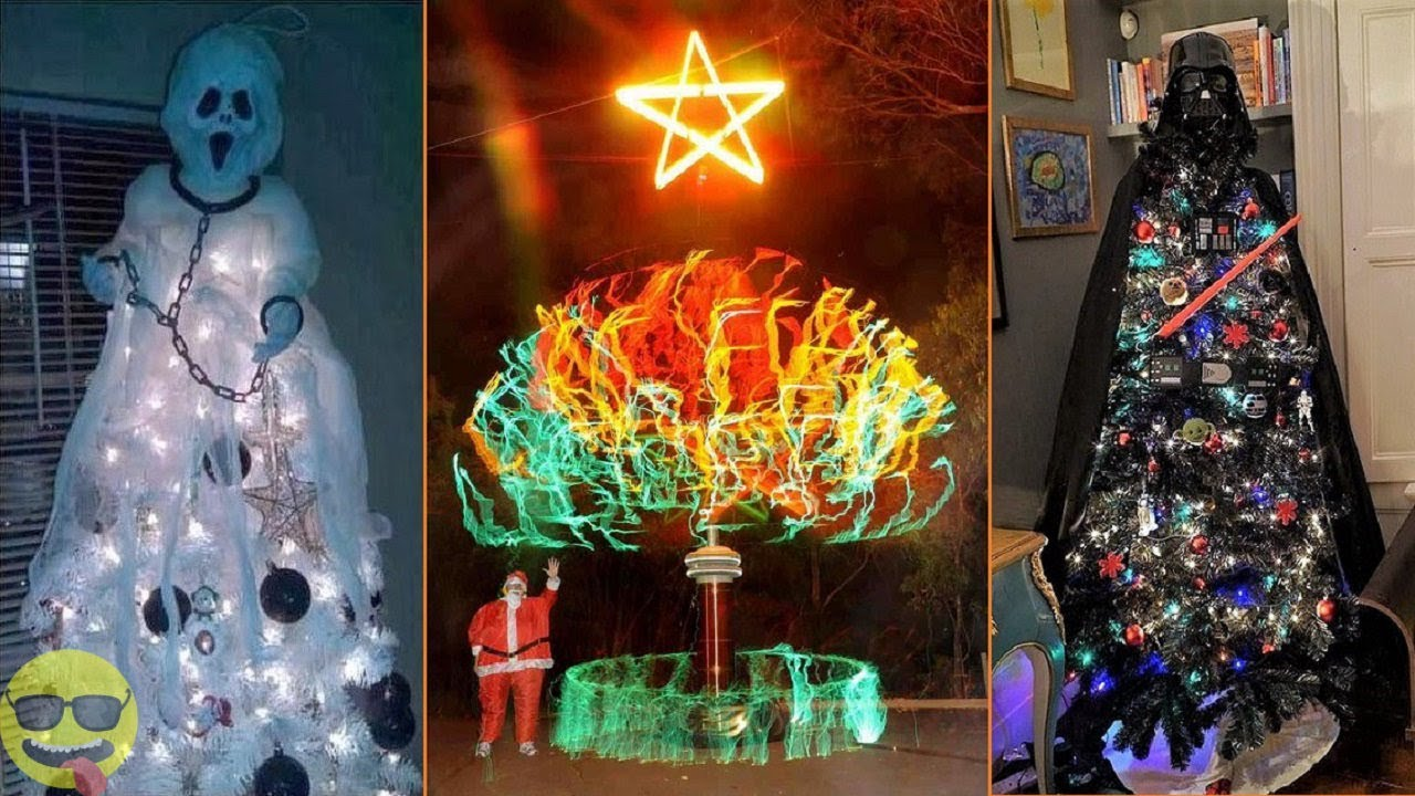 Cool Christmas Trees.100 Most Creative And Cool Christmas Tree Ideas