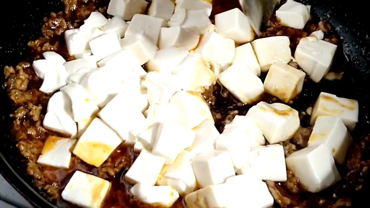 麻婆豆腐 料理