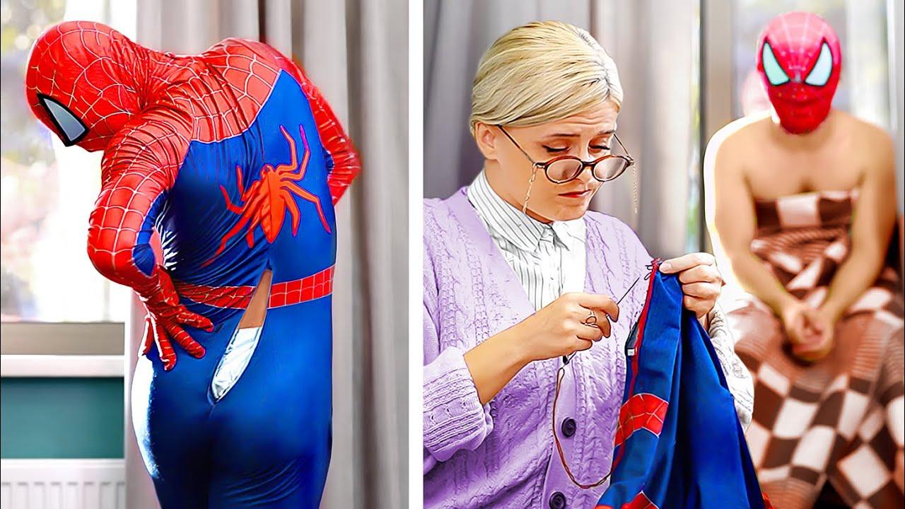 Богатые супергерои vs бедные супергерои