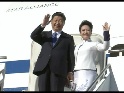 Chinese President Xi Jinping Arrives in Seattle for First US State Visit