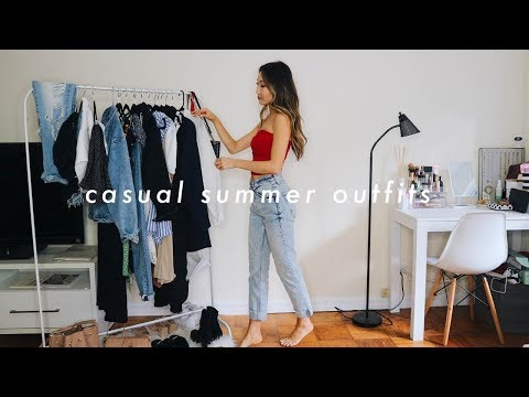 CASUAL SUMMER OUTFITS 🌞 | summer fashion lookbook 2019