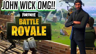 Finally unlocking JOHN WICK! No buying tiers needed-Fortnite:Battle Royale