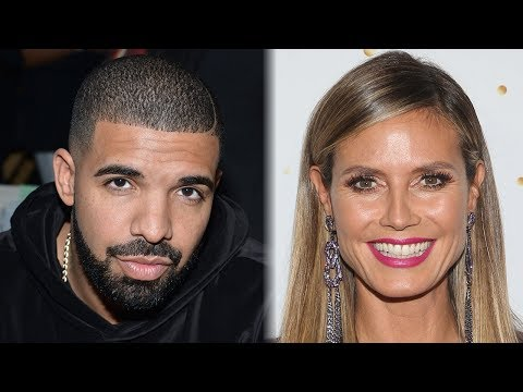 Drake Was GHOSTED By Heidi Klum After He Asked Her Out Over Text