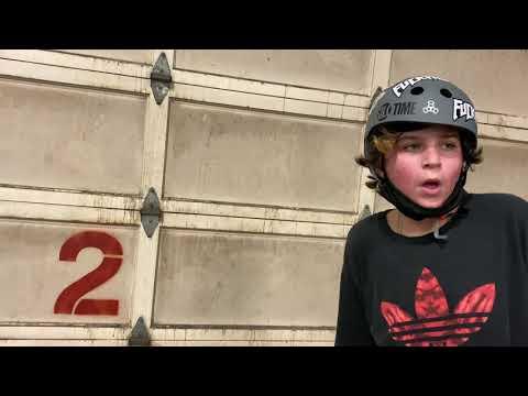 skating Nebraska's only indoor skate park