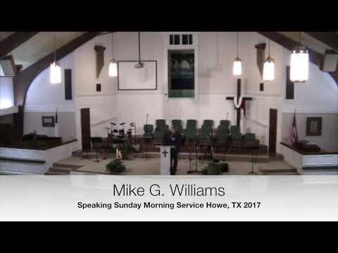 Traditional Sunday Service w/ Mike Williams 2017