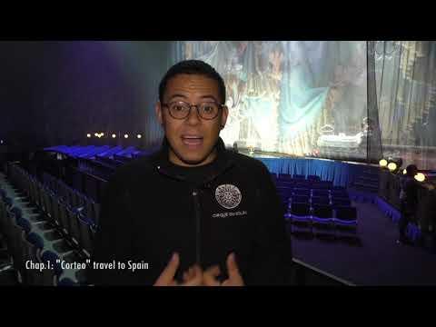 Corteo de Cirque du Soleil travel to spain