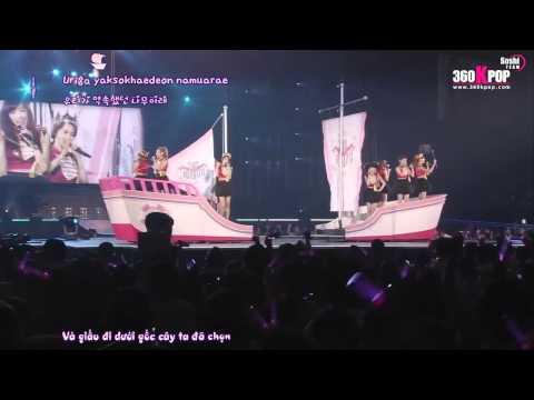 Vietsub + Kara SNSD   My Child @ Arena Tour 2011 In Japan 360kpop