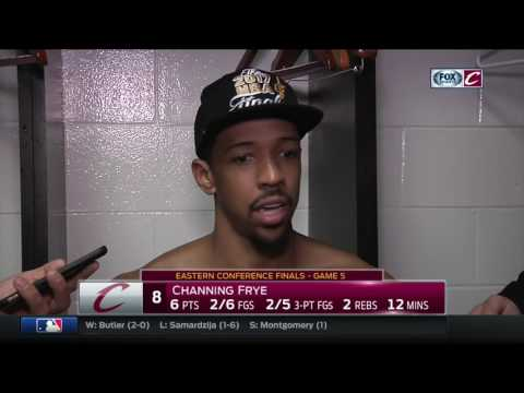 Channing Frye says Cleveland Cavaliers can take a deep breath, then get ready for NBA Finals