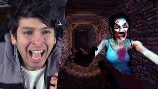 NUNCA ENTRES A ÉSTE JUEGO DEMONIACO !! - Demonic Manor (Horror Game)