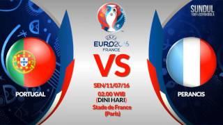 Prediksi Euro 2016 [Portugal vs Perancis] | Video bola, berita bola, cuplikan gol, prediksi bola(, 2016-07-08T08:58:52.000Z)