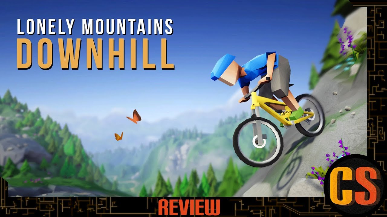 LONELY MOUNTAINS DOWNHILL - PS4 REVIEW (Video Game Video Review)