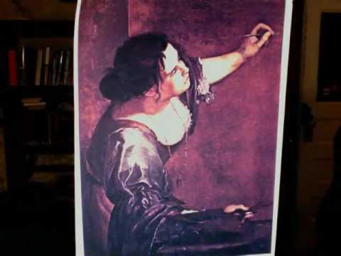 Artemisia Gentileschi Self Portrait Youtube