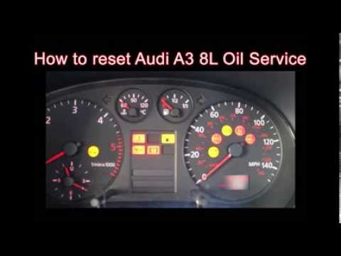 Reset engine light audi a4