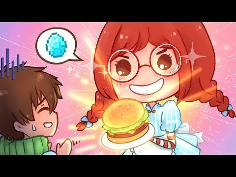 Lily Wendy's Restaurant in Minecraft