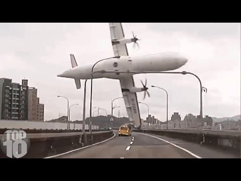 10 Plane Crashes Caught on Camera
