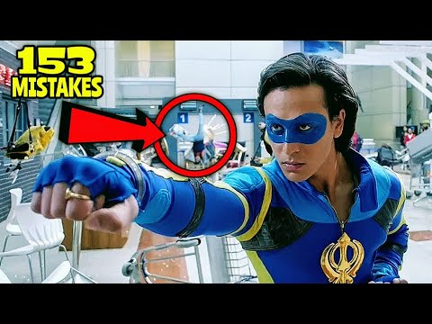 """Download 153 Mistakes In A Flying Jatt - Many Mistakes In """"A Flying Jatt"""" Full Hindi Movie - Tiger Shroff"""