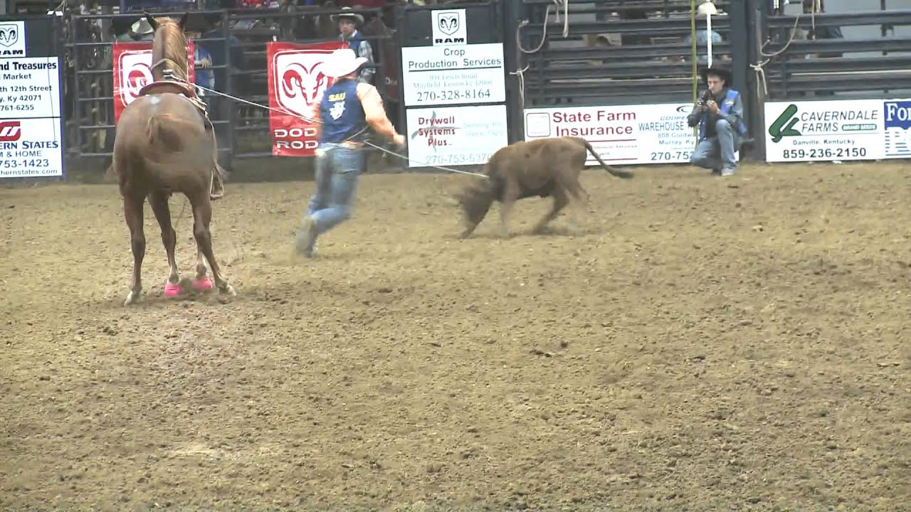 35th Annual Murray State University College Rodeo Youtube