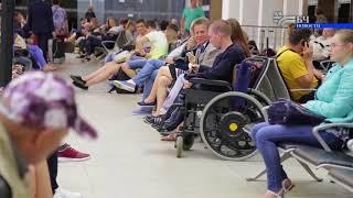 Оформление заявки и проезд в специально оборудованном вагоне инвалида-колясочника